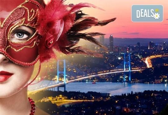 Венецианска атмосфера в Истанбул за Деня на влюбените! 2 нощувки 3* или 4*, закуски, транспорт и посещение на Outlet Via Port Venecia! - Снимка 1