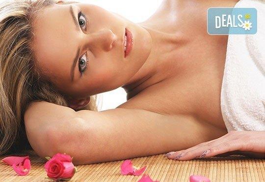Шоколадова или розова терапия по избор с пилинг, масаж на цяло тяло, деколте и стъпала в салон Престиж, Яворец! - Снимка 3
