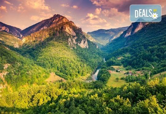 Открийте сезона! 2 дни рафтинг в каньона на р.Тара, Босна и Херцеговина! 3 нощувки на пълен пансион, екипировка и транспорт! - Снимка 1