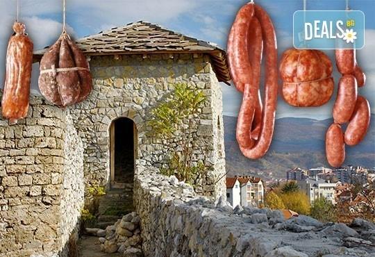 Еднодневна екскурзия през януари за кулинарния фестивал Пеглана колбасица в Пирот, Сърбия - транспорт и екскурзовод! - Снимка 1