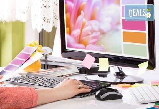 Курс по графичен дизайн дистанционна форма с два модула и документ за завършен курс от Курсове-София! - Снимка 1
