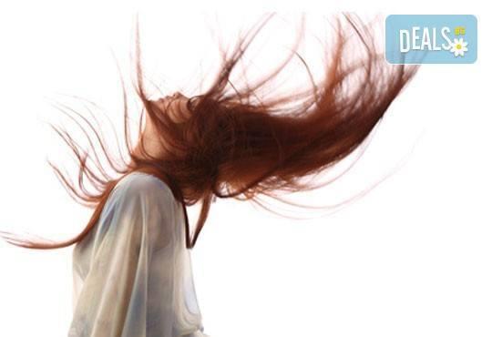 За красива коса! Подстригване, терапия според нуждите на косата и оформяне със сешоар в салон за красота Елеганс! - Снимка 1