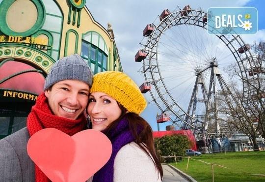 Романтична екскурзия за Свети Валентин до Виена, Австрия! 2 нощувки със закуски, самолетен билет и летищни такси! - Снимка 1