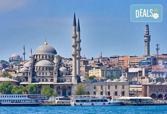 Свети Валентин в Истанбул! 2 нощувки със закуски, транспорт, панорамна обиколка Нощен романтичен Истанбул и посещение на Одрин! - Снимка 1