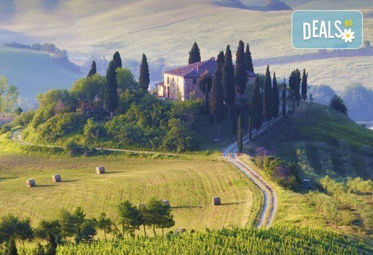 Екскурзия до очарователната Тоскана през март, с Дари Травел! 5 нощувки, 5 закуски, 3 вечери, самолетен билет и автобусен транспорт! - Снимка 1