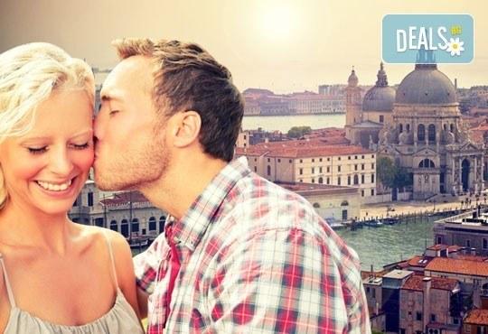 Свети Валентин в най-романтичните градове на Италия - Верона и Венеция! 2 нощувки със закуски, хотел 3*, транспорт от Дари Травел - Снимка 1
