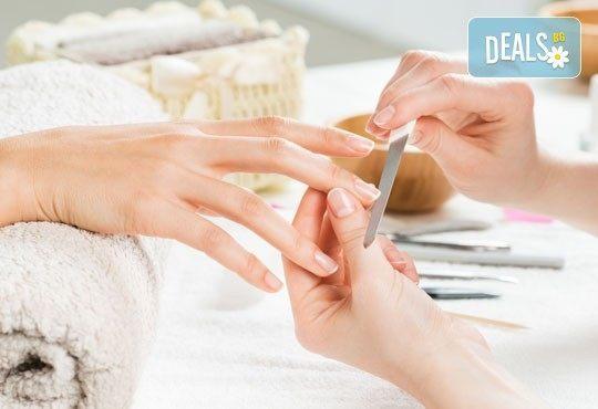 Изящни и красиви ръце! SPA маникюр с гел лак Bluesky и бонус безплатно сваляне на гел лак от ADI'S Beauty & SPA! - Снимка 2