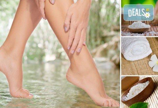 Поглезете крачетата си и се отървете от напрежението с 40-минутна терапия Уморени крака в ADI'S Beauty & SPA! - Снимка 1