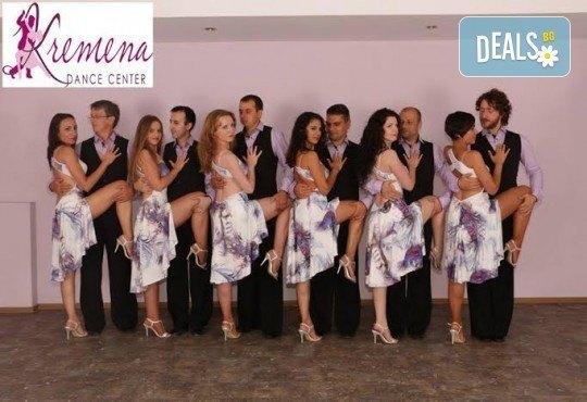 Направете първите си стъпки в най-емоциалния танц! 4 посещения на уроци по аржентинско танго в Kremena Dance Center! - Снимка 5
