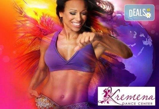 Влезте във форма, докато се забавлявате с 5 посещения на тренировки по зумба в Kremena Dance Center! - Снимка 5