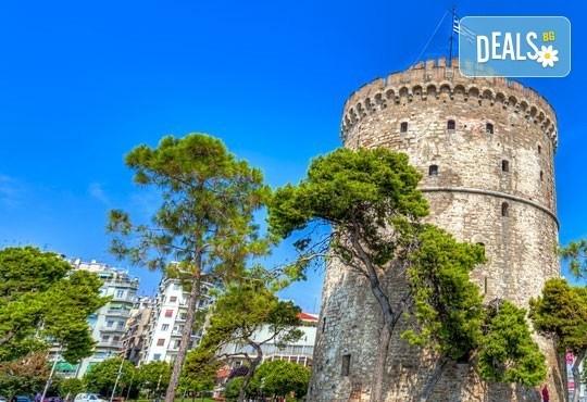 Разнообразете зимата с еднодневна екскурзия на 20.02. в Солун, Гърция! Транспорт и екскурзовод, осигурени от Фреш Холидей! - Снимка 1