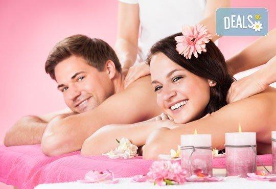 """СПА ритуал за двама """"Мед и рози""""! Два масажа на цяло тяло с масажно масло EcoSpa в център Мотив! - Снимка 2"""