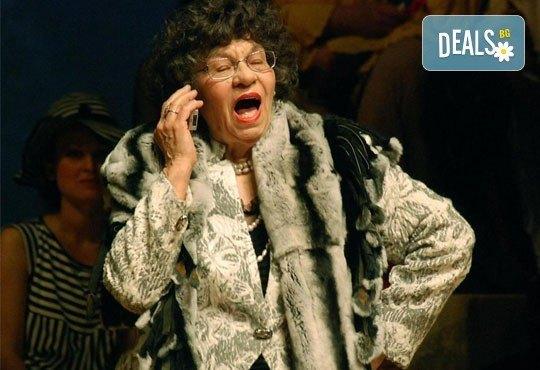 """Гледайте великолепната """"Госпожа Стихийно бедствие"""", на 30.01, от 19ч, Театър Открита сцена Сълза и смях - Снимка 4"""