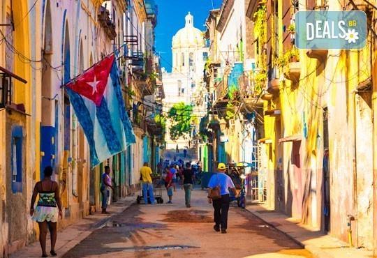 В екзотична Куба от януари до април ! 3 нощувки и закуски в Хавана и 4 нощувки All Incl. в Кайо Коко, самолетен билет! - Снимка 1