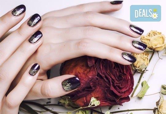 Перфектни ръце! Маникюр с гел лак Gelish или BlueSky и 4 декорации в Студио LAURA STYLE - Снимка 4
