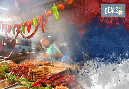 Посетете международния кулинарен фестивал Пеглена колбасица в Пирот, Сърбия! Еднодневна екскурзия с транспорт и екскурзовод! - Снимка 1