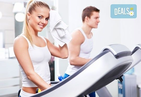 Заредете се с енергия и добро настроение! 1 тренировка с чаша фреш или протеинов шейк във фитнес МК Sport! - Снимка 1