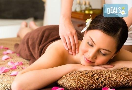 Хидратираща терапия за коса и оформяне със сешоар и класически масаж на цяло тяло с топли билкови масла от ADI'S Beauty & SPA! - Снимка 1