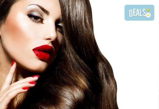 Хидратираща или кератинова терапия, подстригване, сешоар и маникюр с OPI или Bluesky по избор от ADI'S Beauty & SPA! - Снимка 4