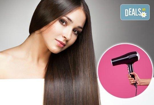 Хидратираща или кератинова терапия, подстригване, сешоар и маникюр с OPI или Bluesky по избор от ADI'S Beauty & SPA! - Снимка 3