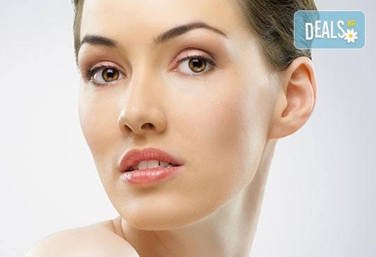 Перфектно лице! Почистване на лице и антиакне, избелваща или подмладяваща терапия по избор от студио за красота Five! - Снимка 4