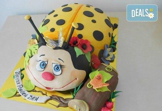 Сбъднати детски мечти! Детска 3D торта с фигурална ръчно изработена декорация от Сладкарница Джорджо Джани - Снимка 9