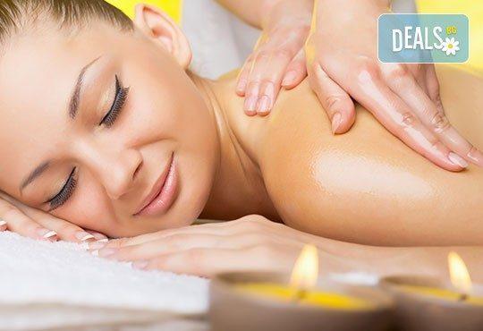 Релакс, билки и екзотика в 60 минути! Арома, тонизиращ или релаксиращ масаж на цяло тяло в Senses Massage & Recreation - Снимка 3