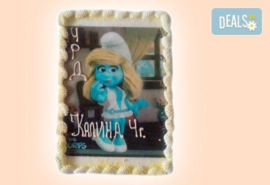 Зарадвайте детето с торта със снимка на любим герой от Сладкарница Орхидея! - Снимка 14