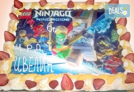 Зарадвайте детето с торта със снимка на любим герой от Сладкарница Орхидея! - Снимка 4