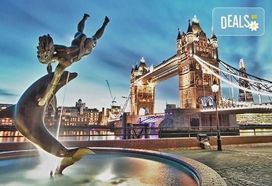 Екскурзия до Лондон и Париж със самолет и влак през Ла Манша! 5 нощувки със закуски, самолетен билет и трансфери! - Снимка 1