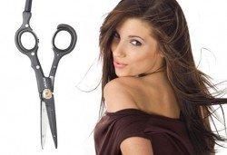 Подстригване с гореща ножица и услуга по избор от салон Хасиенда
