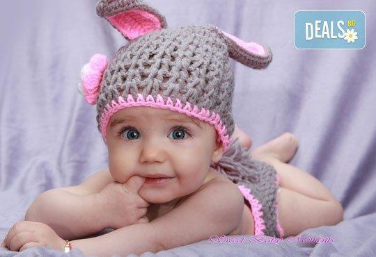 2 часа студийна фотосесия за новородени, бебета и деца до 9 г., 15 обработени кадъра от ProPhoto Studio! - Снимка 1