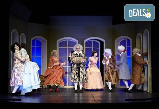 Време е за театър! Скъперникът от Молиер на 14-ти февруари (неделя) в МГТ Зад канала - Снимка 4