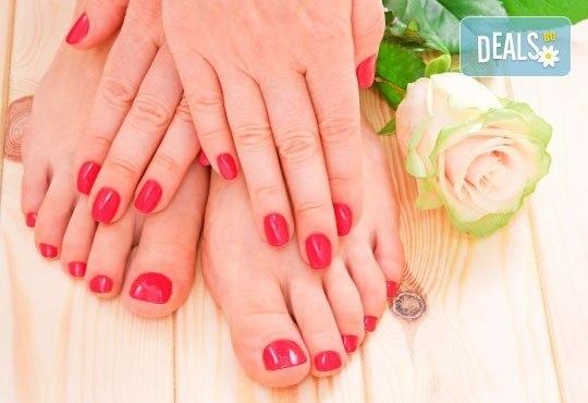 Дълготраен цветен акцент върху ноктите от Дерматокозметични центрове Енигма! Маникюр или педикюр с Astonishing nails! - Снимка 1