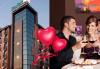 Свети Валентин в хотел Будапеща 3* в София! 1 нощувка с английска закуска и романтична вечеря за двама, кутия шоколадови бонбони и бутилка вино! - thumb 1