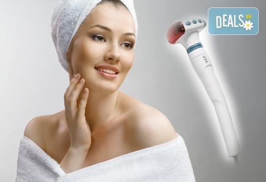 Видимо по-сияйна кожа с 30-минутен масаж на лице! Бонус 10-минутен инфраред на лице в студио за красота Victoria Sonten! - Снимка 1