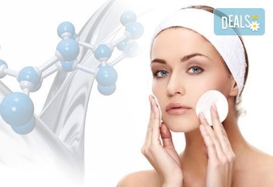 Дълбоко почистване на лице в 10 стъпки, точков масаж Zensei, лимфен дренаж и маска от Дерматокозметични центрове Енигма - Снимка 2