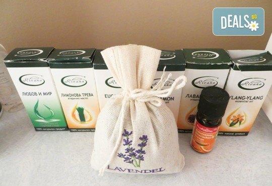 Балансирайте тялото си и забравете стреса! 60-минутен релаксиращ арома масаж с лавандула в Wellness Place BEL! - Снимка 2