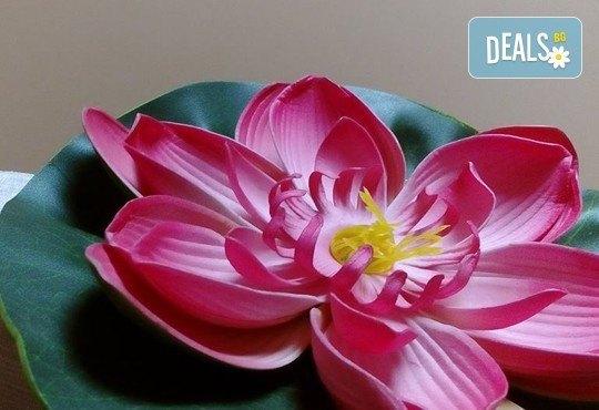 СПА микс! Комбиниран масаж на тяло с елементи на класически и тайландски масаж, ароматерапия с френска лавандула, My Spa - Снимка 6