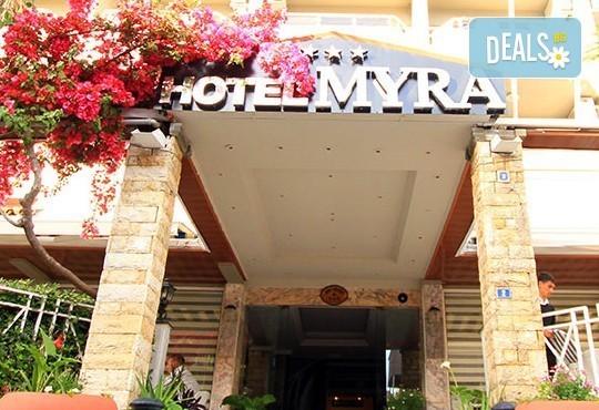 Почивка през май в Myra Hotel 3*, Мармарис, Турция! 7нощувки на база All Inclusive, безплатно за дете до 7г.! - Снимка 2
