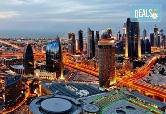 Екскурзия до космополитният Дубай през март или април! 5 нощувки със закуски в хотел 4*, самолетен билет и обзорна обиколка на града! - Снимка 1