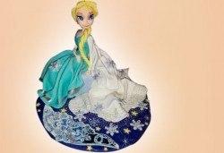 Страхотна фигурална торта за момичета: Замръзналото кралство, Монстар или Феята Дзън Дзън от Сладкарница Джорджо Джани - Снимка