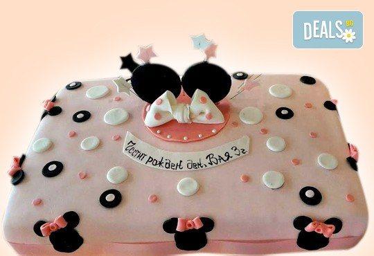 Красиви детски торти за момичета с принцеси и приказни феи + ръчно моделирана декорация от Сладкарница Джорджо Джани - Снимка 1