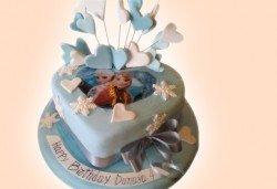 Детски торти за момичета с принцеси и приказни феи от Джорджо Джани