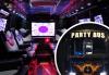 За една незабравима вечер! Наем на пътуващ Party Bus за 1 или 2 часа с 32 седящи места и еротична шоу програма! - thumb 1