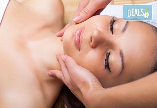 За нови сили и настроение! 60-минутен енергизиращ масаж с мента и зелен чай на цяло тяло и масаж на лице в студио Giro! - Снимка 4