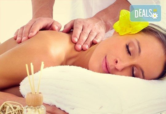 Релаксирайте и се избавете от болките със 70-минутен лечебен масаж на цяло тяло в Йога и масажи Айя! - Снимка 1