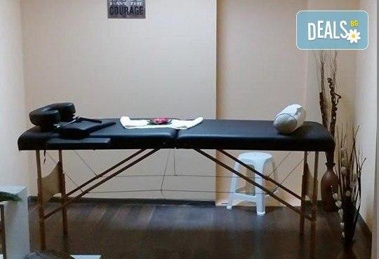 Поглезете кожата и сетивата си с пилинг масаж с кафе и дълбокотъканен масаж на цяло тяло в студио My Spa! - Снимка 2