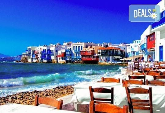 Магична почивка на о. Миконос в Гърция през май или юни! 4 нощувки със закуски, транспорт и фериботни билети и такси! - Снимка 2