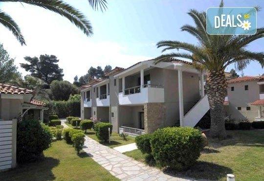 Почивка от май до септември в Lagomandra Beach Hotel 4*, Халкидики: 4 или 5 нощувки в двойна супериор стая, със закуски и вечери! - Снимка 6